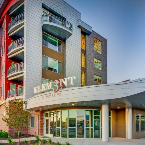 Element31 Lobby Leasing Office Exterior