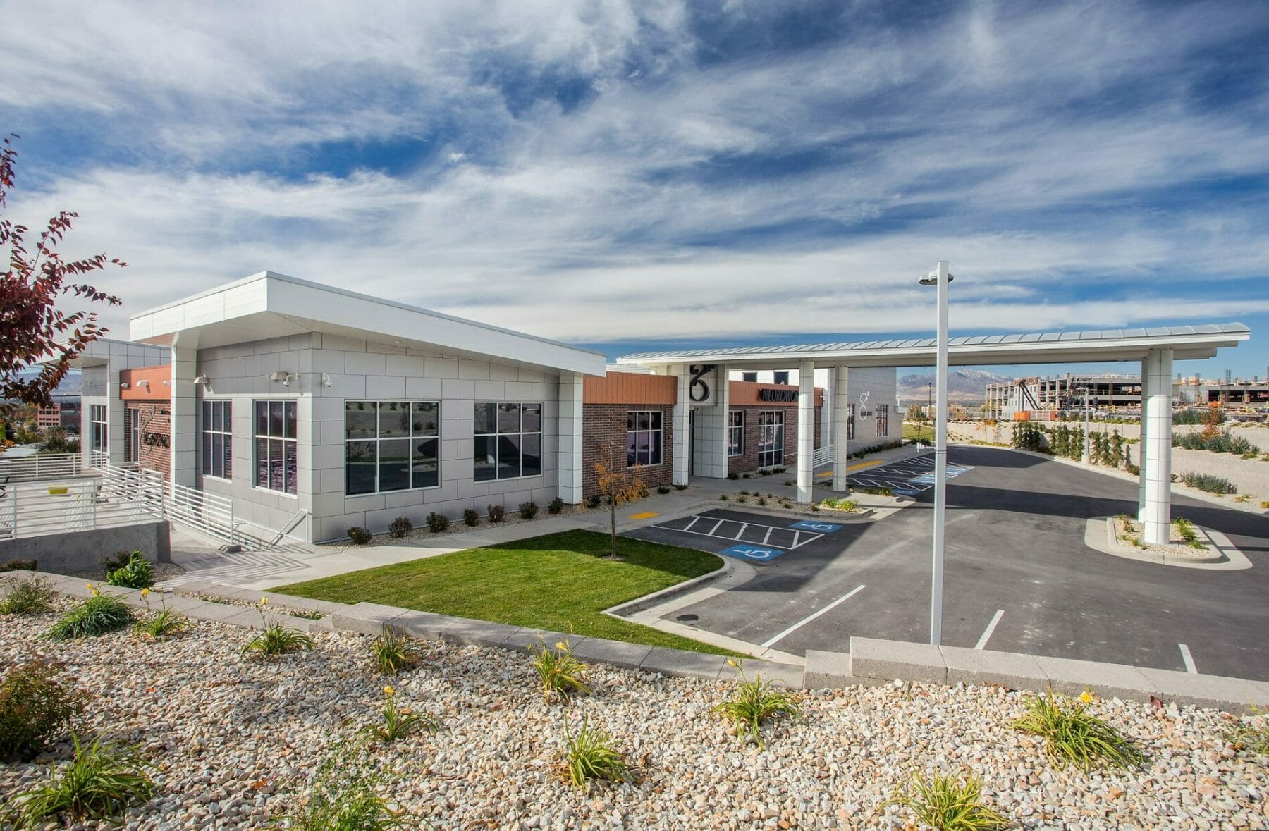 Utah Rehabilitation Facility Custom Architecture