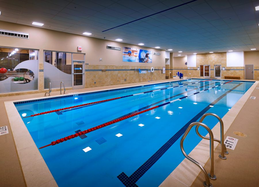 Fitness Laps Indoor Pool