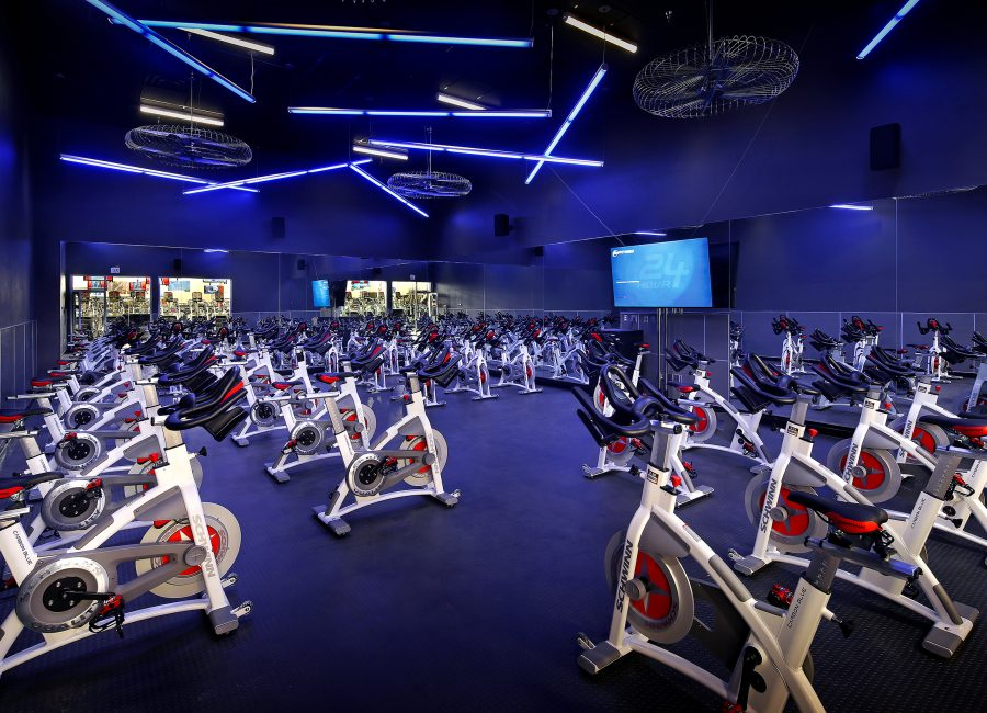 Spin Cycle Fitness Room