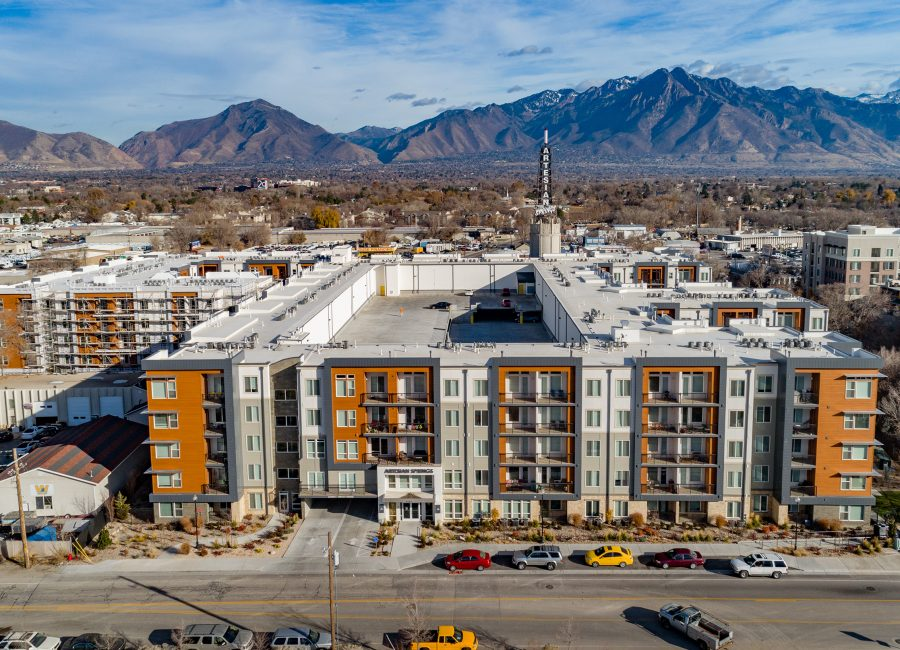 Modern Housing Complex Utah Homes