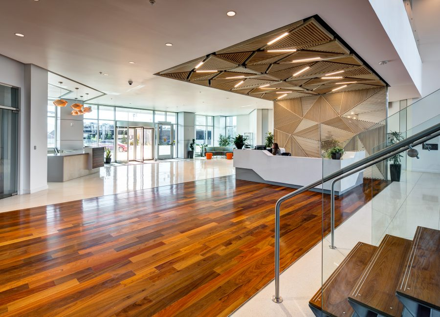 Multi-Use Office Space Lobby
