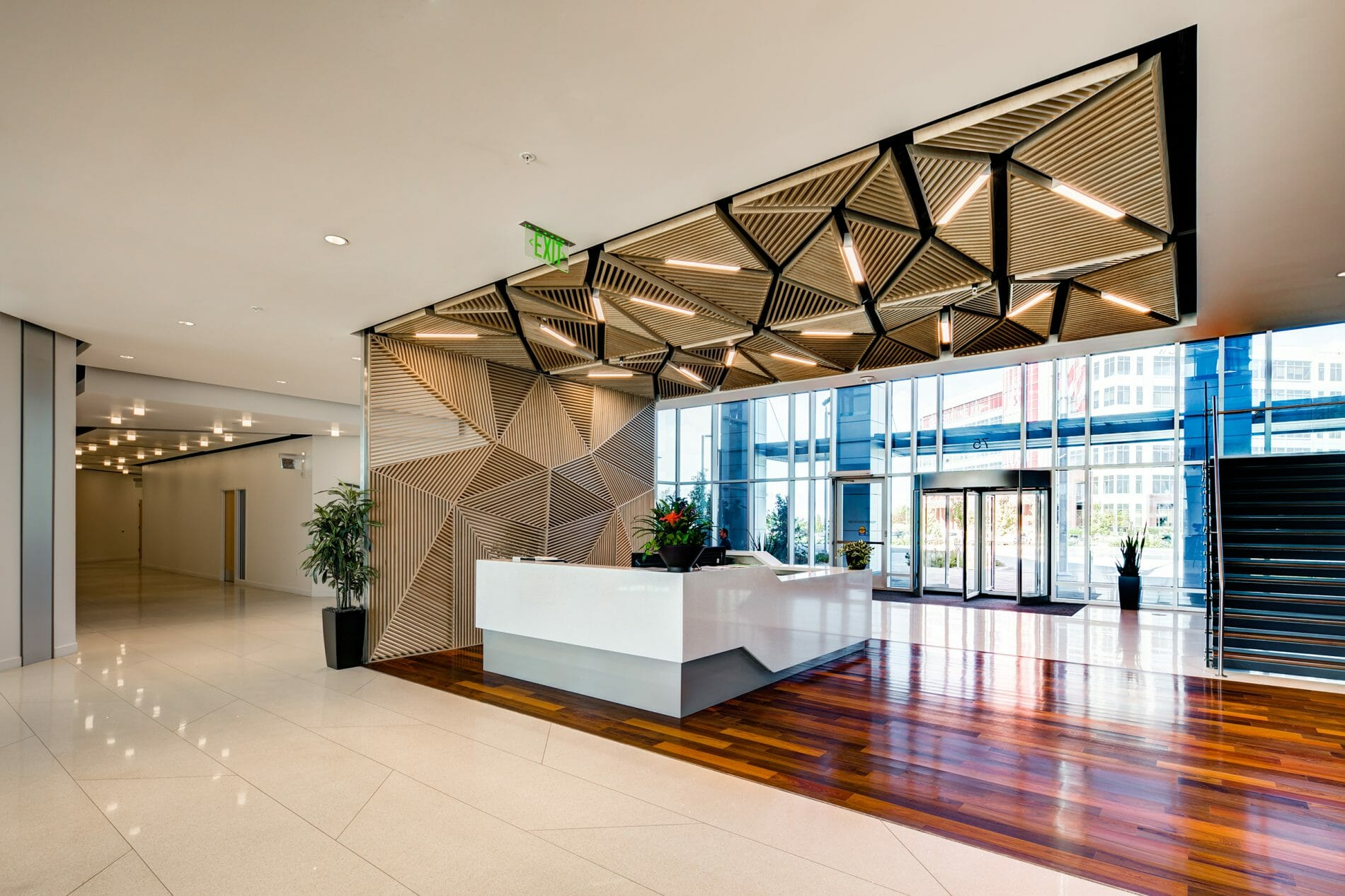 Modern Office Building Lobby Design