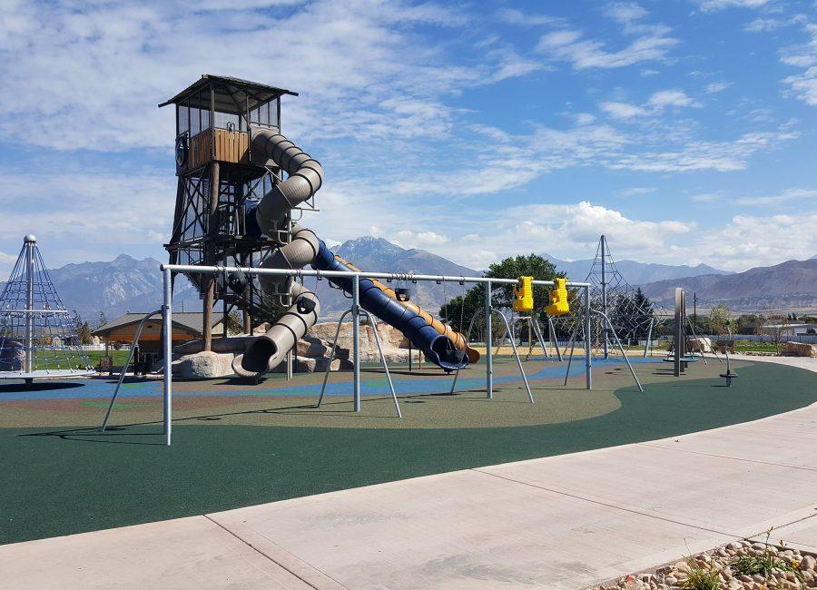 Children's Outdoor Park Think Architecture