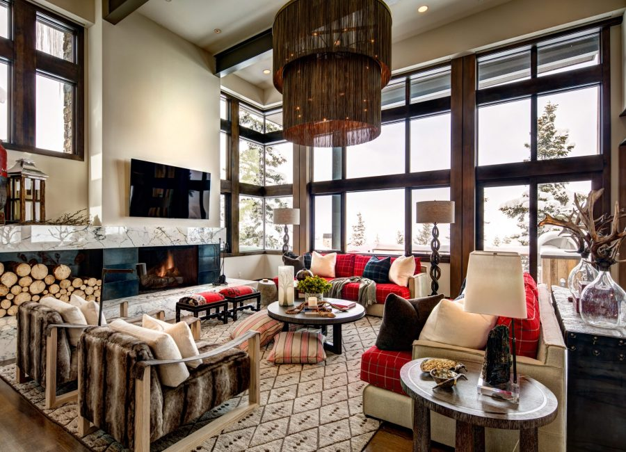 Interior Design In Ski Lodge