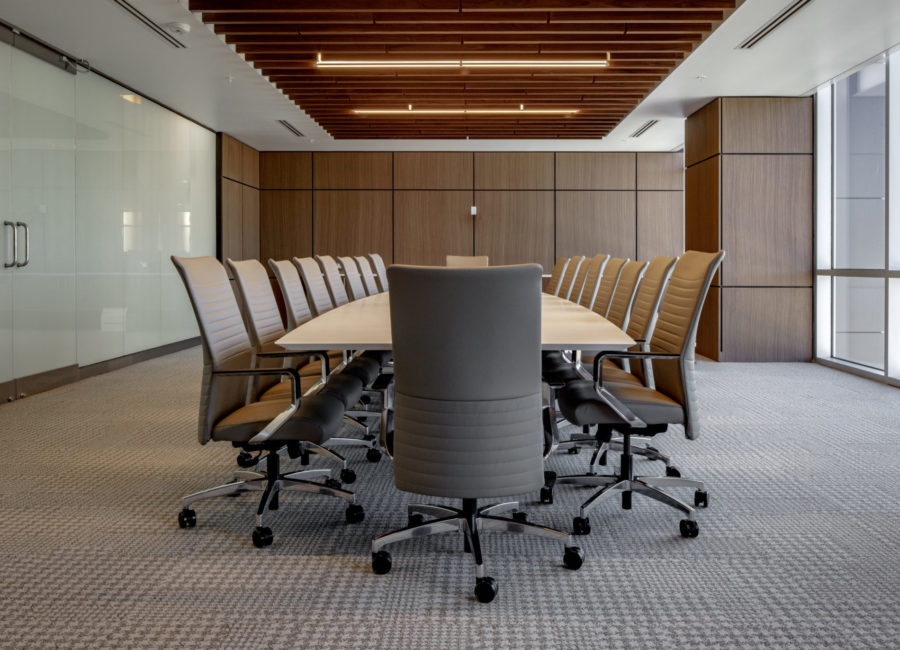 Conference room interior design
