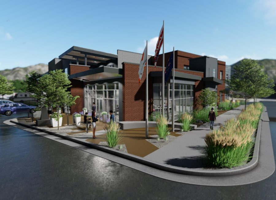 Murray Fire Station Design Drawing
