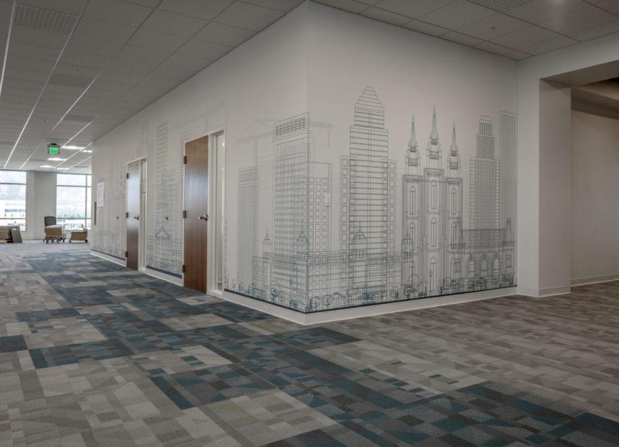 Interior Design in Business Building