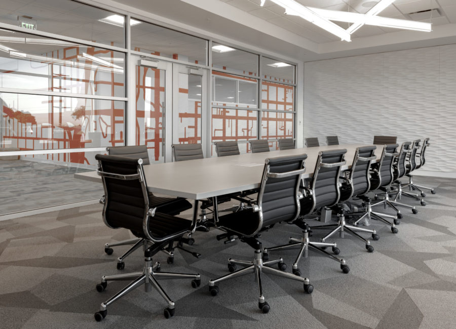 Conference Room In Commercial Building