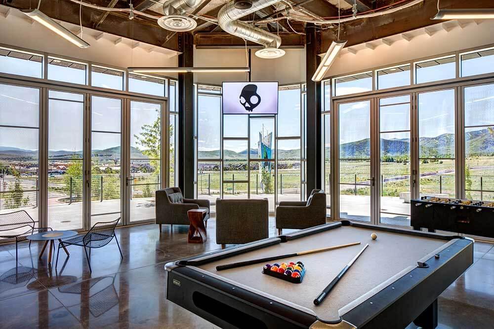 Work space amenities