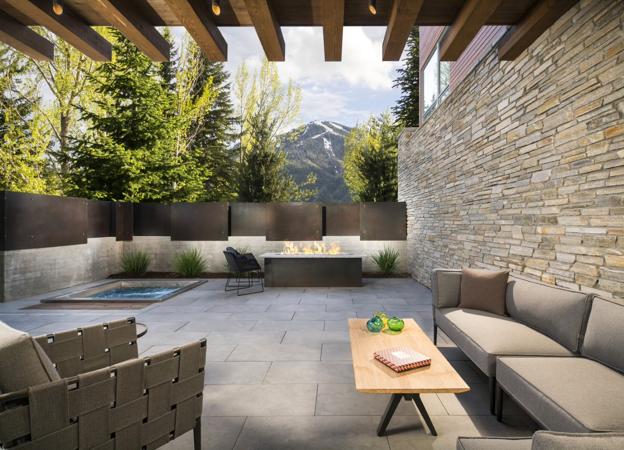 Mountain Resort Patio Remodel