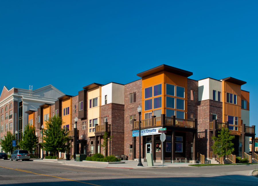commercial space in Utah townhomes