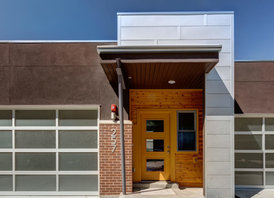 Entrance of Salt Lake City townhome - land use planning by Think