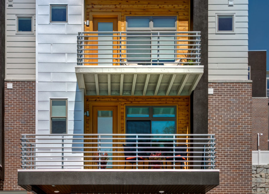 Modern architecture design in Salt Lake City