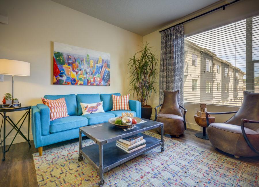 Eaglewood Lofts Living Room