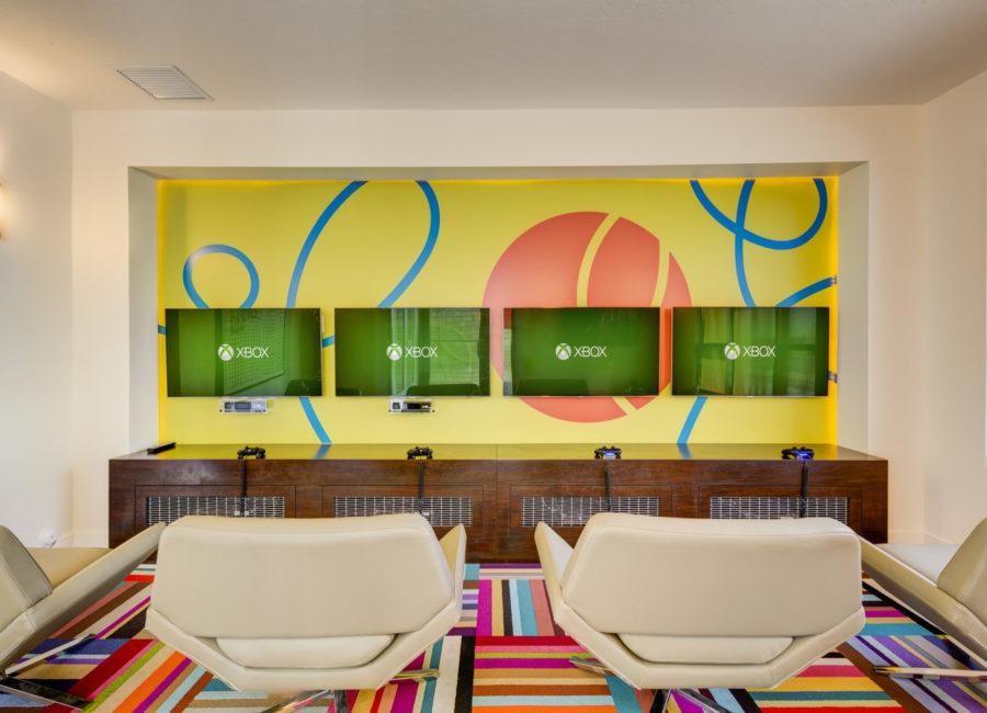 Eaglewood Lofts Media Room