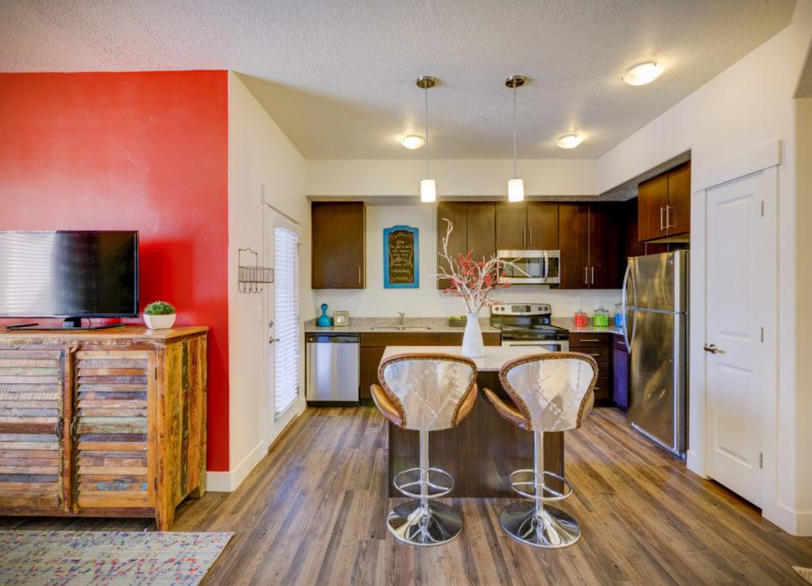 Eaglewood Lofts kitchen