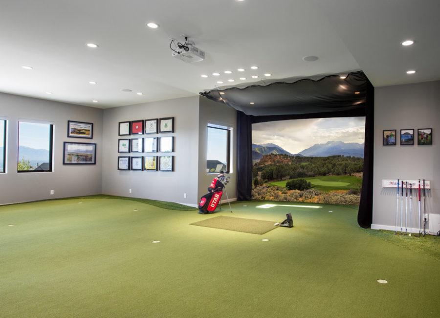 Briggs Golfing