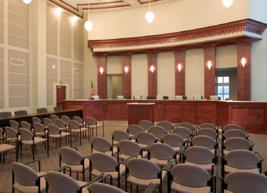 Draper courtroom