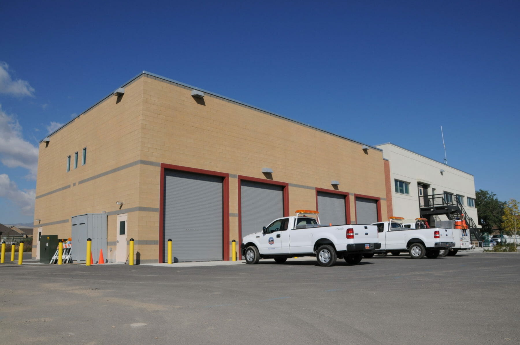 Entrance of Riverton Public Works - Architecture designs by Think