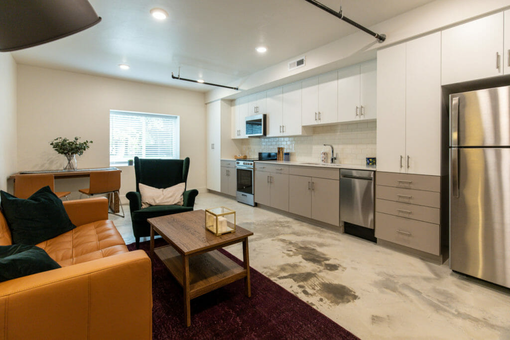 Graystone condominiums - redesigned by Think Architecture