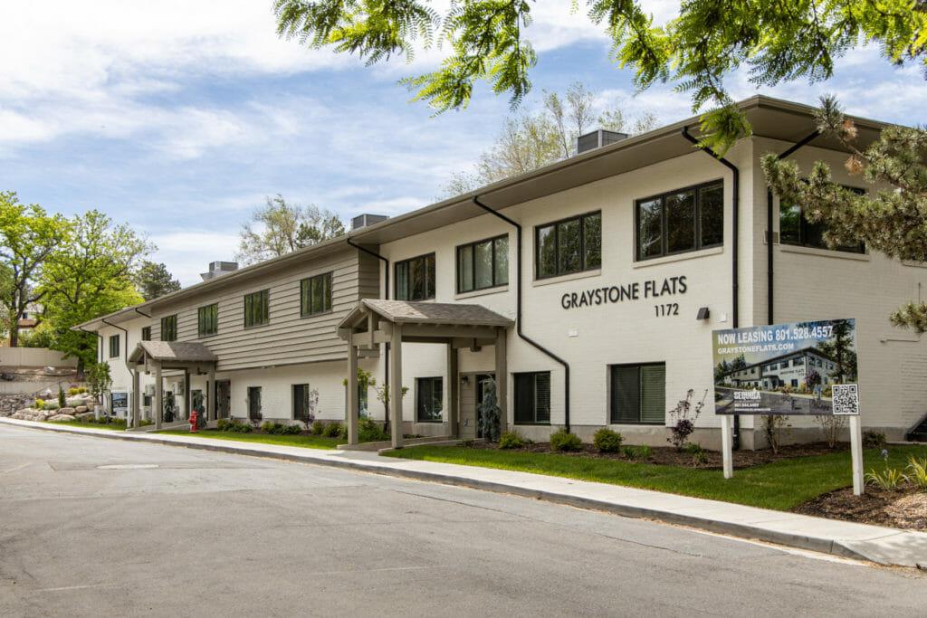 Graystone Adaptive Reuse Project in Salt Lake City